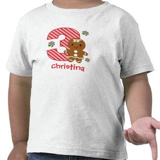 Gingerbread Girl 3rd Birthday Shirt