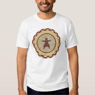 Gingerbread Girl Angel T-shirts