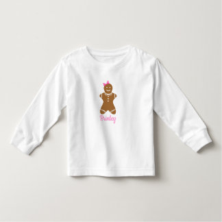 Gingerbread Girl Personalized Shirt