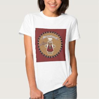 Gingerbread Girl Shirts