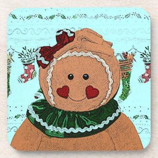 Gingerbread Girl Sketch Coaster