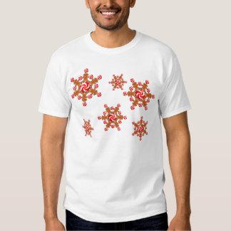 GINGERBREAD GIRL STAR by SHARON SHARPE Tee Shirt