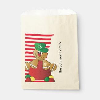 Gingerbread Gumdrops Favour Bags
