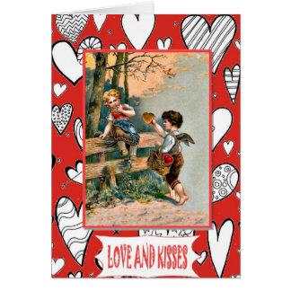 Gingerbread heart card