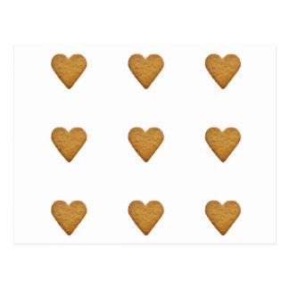 Gingerbread Heart Postcard