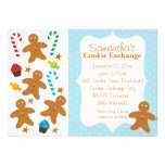 Gingerbread Holiday Cookie Exchange Personalised Invitation
