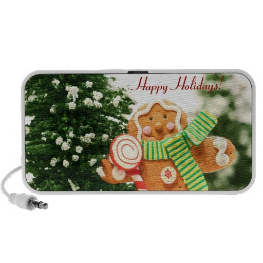 Gingerbread Holiday Doodle Speakers