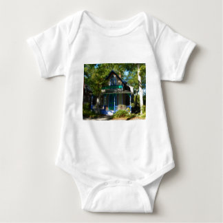 Gingerbread house 13 baby bodysuit