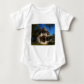 Gingerbread house 16 baby bodysuit
