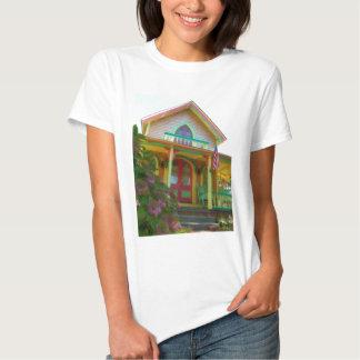 Gingerbread house 26 tees