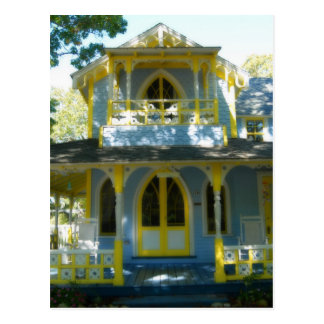 Gingerbread house 31 postcard