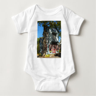 Gingerbread house 6 baby bodysuit