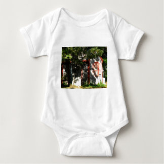 Gingerbread house 9 baby bodysuit