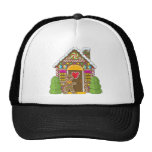 Gingerbread House and Man Cap