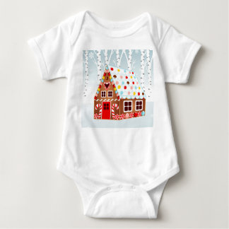 Gingerbread House Baby body Baby Bodysuit