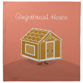 Gingerbread House cartoon | Napkin