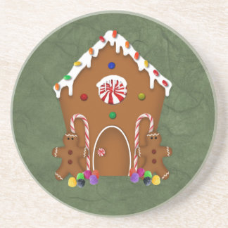 Gingerbread House Coaster
