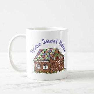 Gingerbread House Home Sweet Home Christmas Xmas Coffee Mug