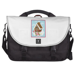 Gingerbread House Commuter Bag