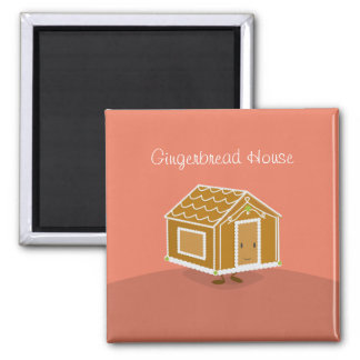 Gingerbread House | Magnet