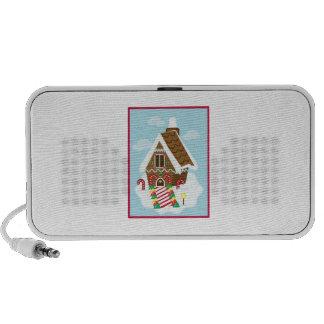 Gingerbread House Mini Speaker