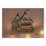 Gingerbread House Porcelain Card