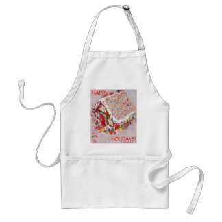 Gingerbread House Standard Apron