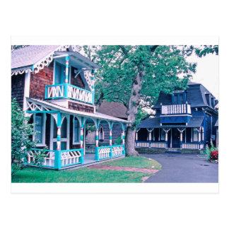 Gingerbread Houses Tom Wurl Postcard