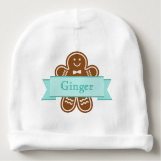 Gingerbread Hugs Baby Beanie