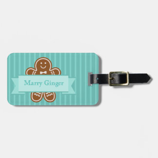 Gingerbread Hugs Bag Tag