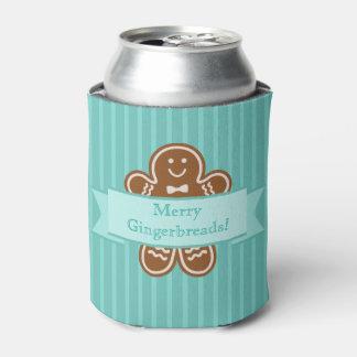 Gingerbread Hugs Can Cooler