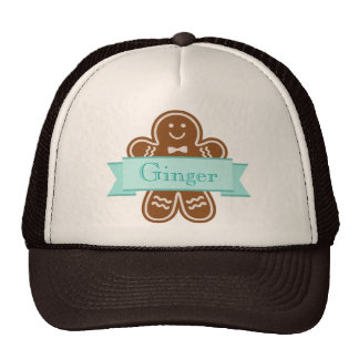 Gingerbread Hugs Cap