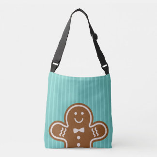 Gingerbread Hugs Crossbody Bag