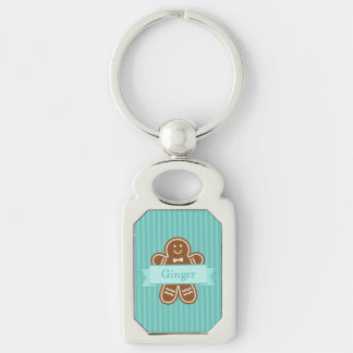 Gingerbread Hugs Key Ring