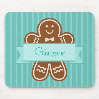 Gingerbread Hugs Mouse Mat