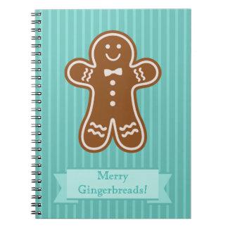 Gingerbread Hugs Notebook