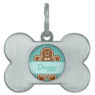 Gingerbread Hugs Pet Tag