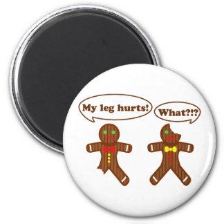Gingerbread Humor Magnet