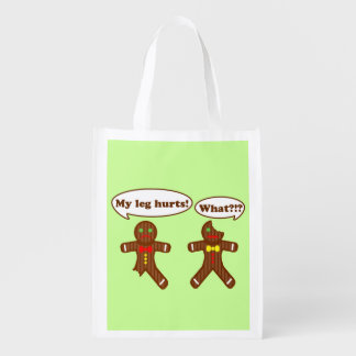 Gingerbread Humor Market Tote