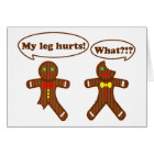 Gingerbread Humour Card