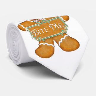 Gingerbread Man 2 - Bite Me Tie