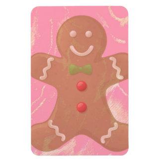 Gingerbread Man Art Magnet
