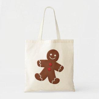 Gingerbread Man Tote Bags