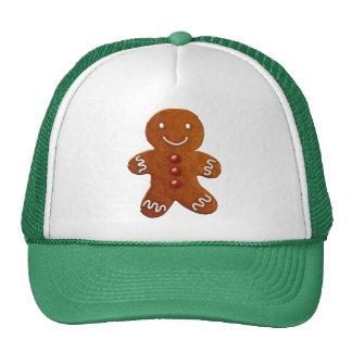 Gingerbread Man Mesh Hats