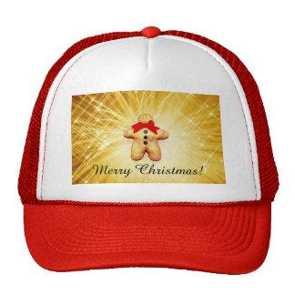 Gingerbread Man Celebration Hats