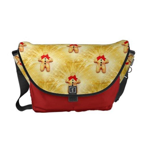 Gingerbread Man Celebration Messenger Bag