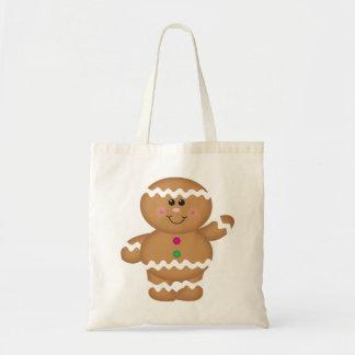Gingerbread Man Christmas Bag