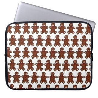 Gingerbread Man Christmas Cookie Holiday Foodie Laptop Sleeve