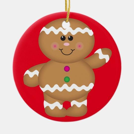 Gingerbread Man Christmas Decoration