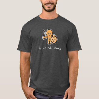 Gingerbread Man Christmas Humour T-Shirt